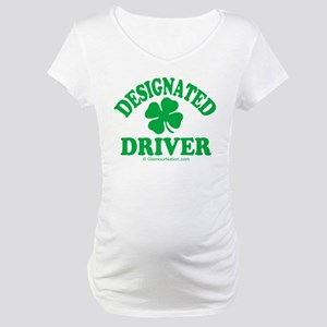 Designated Driver 1 Maternity T-Shirt
