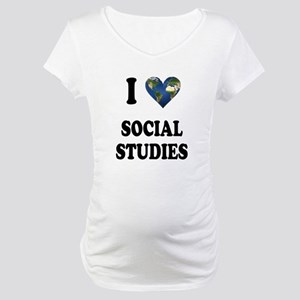 I Love School Shirts Gifts Maternity T-Shirt