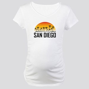 San Diego Sunset Maternity T-Shirt