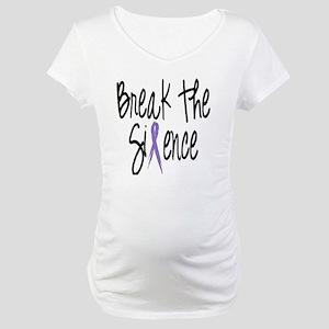 513ab4f19d6c1 Domestic Violence Maternity T-Shirts - CafePress