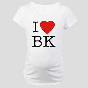 ccce3679 I Love Brooklyn Maternity T-Shirts - CafePress