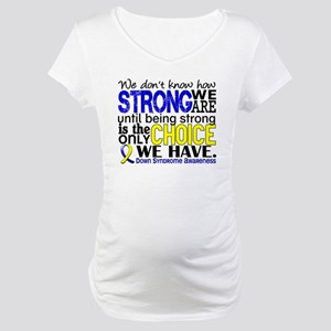9d32457ab92a5 Blue Ribbon Maternity T-Shirts - CafePress