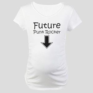 aec3ccafc6296 Future Punk Rockers Maternity T-Shirts - CafePress