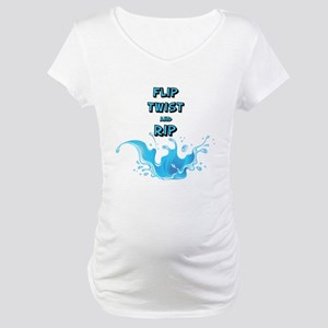Flip, Twist and Rip Maternity T-Shirt
