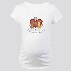 Too Many Cats Maternity T-Shirt