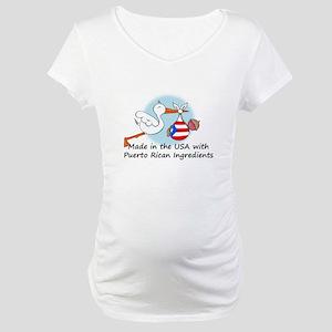9d9def8d6 Funny Puerto Rican Maternity T-Shirts - CafePress