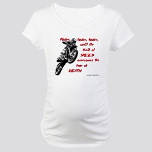 Faster Dirt Bike Motocross Quote Saying Maternity