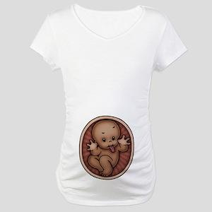 Razz Baby -DS Maternity T-Shirt