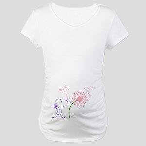 Snoopy Dandelion Maternity T-Shirt