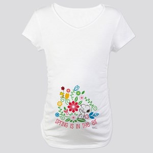 Snoopy Spring Maternity T-Shirt