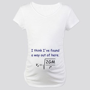 Escape Velocity Maternity T-Shirt