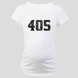 405 Oklahoma City Area Code Maternity T-Shirt