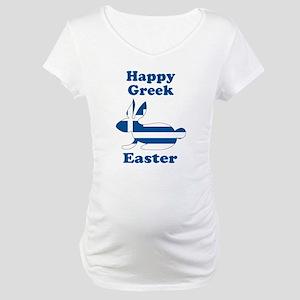 Greek Easter Maternity T-Shirt