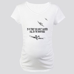 A-10 Warthogs USAF Maternity T-Shirt