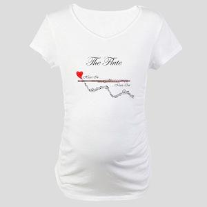 'The Flute' Maternity T-Shirt