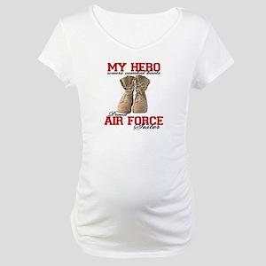 Combat boots: USAF Sister Maternity T-Shirt