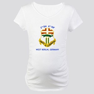 2nd BN 6th INF Gear Maternity T-Shirt
