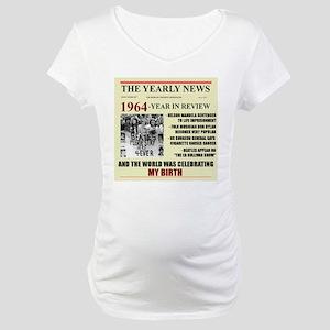 born in 1964 birthday gift Maternity T-Shirt