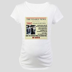 born in 2002 birthday gift Maternity T-Shirt
