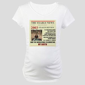 born in 2003 birthday gift Maternity T-Shirt