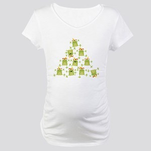10 Lords A-Leaping Maternity T-Shirt