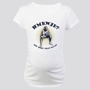 How Many Reps? Maternity T-Shirt