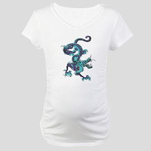 Chinese Dragon Maternity T-Shirt