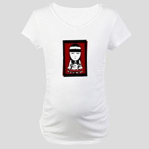 Goth Girl Maternity T-Shirt