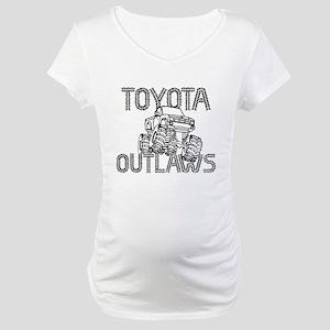 Toyota Outlaws Logo Maternity T-Shirt