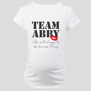 Team Abby Maternity T-Shirt