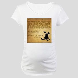 Velveteen Rabbit Print Maternity T-Shirt