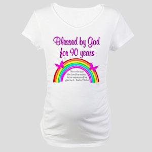 PRECIOUS 90TH Maternity T-Shirt