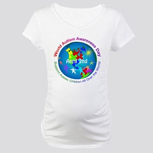World Autism Awareness Day Maternity T-Shirt