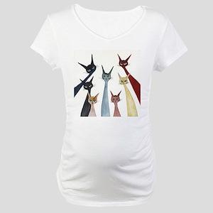 Aroostook Stray Cats  Maternity T-Shirt