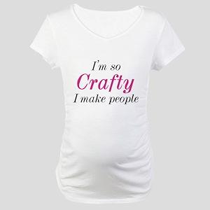 I'm So Crafty Maternity T-Shirt