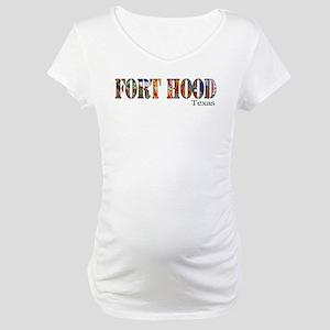 Fort Hood Maternity T-Shirt