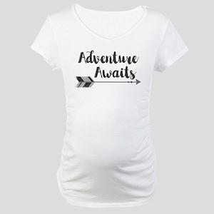 Adventure Awaits Maternity T-Shirt