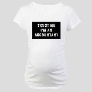 Accountant Gift Maternity T-Shirt
