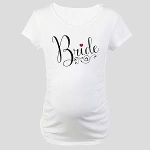 Elegant Bride Maternity T-Shirt