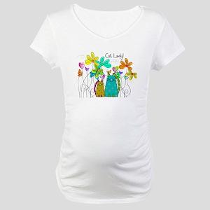 Spring Flowers 13 Maternity T-Shirt