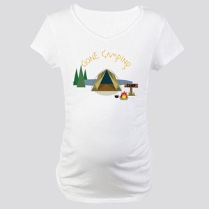 Gone Camping Maternity T-Shirt