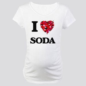 I love Soda Maternity T-Shirt