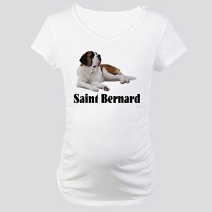 Saint Bernard Maternity T-Shirt