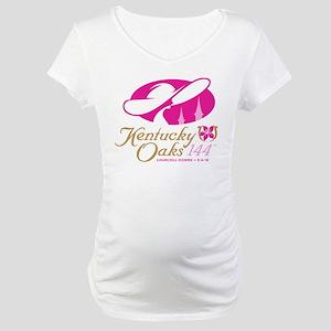 Official KY Oaks Logo Maternity T-Shirt