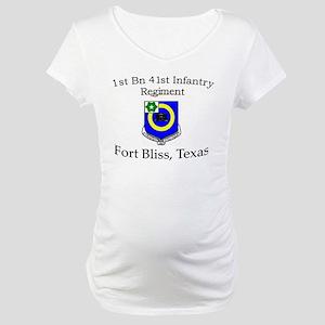 1st Bn 41st Inf Maternity T-Shirt