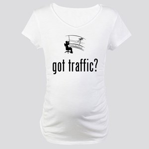 Air Traffic Control Maternity T-Shirt
