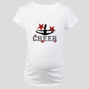 Cheerleader Maternity T-Shirt