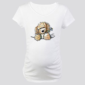 Bailey's Irish Crm Doodle Maternity T-Shirt