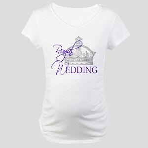 Royal Wedding London England Maternity T-Shirt