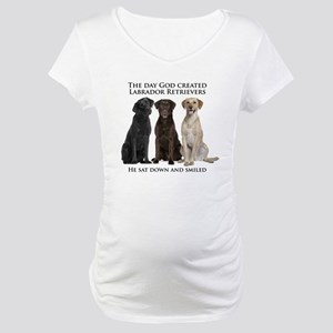Creation of Labs Maternity T-Shirt